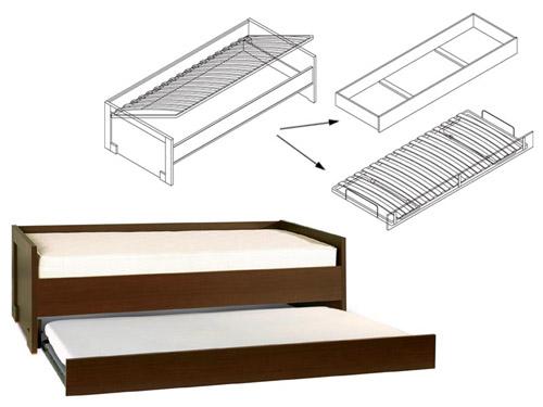 Диван-кровать 90х200 Modern