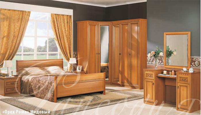 Готовая композиция спальня Рапсодия 4