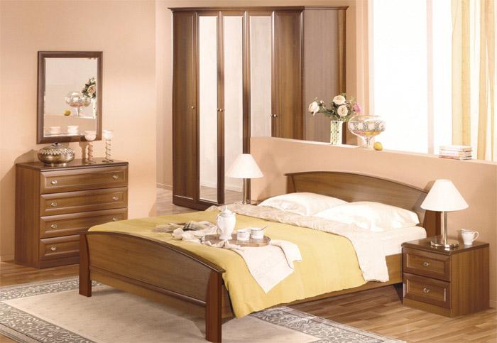 Готовая композиция спальня Соната 2