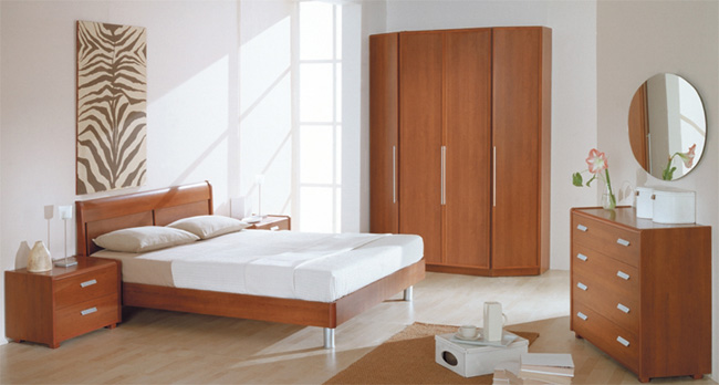 Готовая композиция спальня Матрица 2