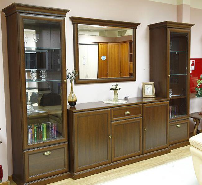 Мебель для гостиной стенка Ровена 4