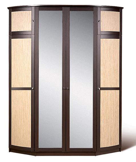 Шкаф для платья и белья Модена