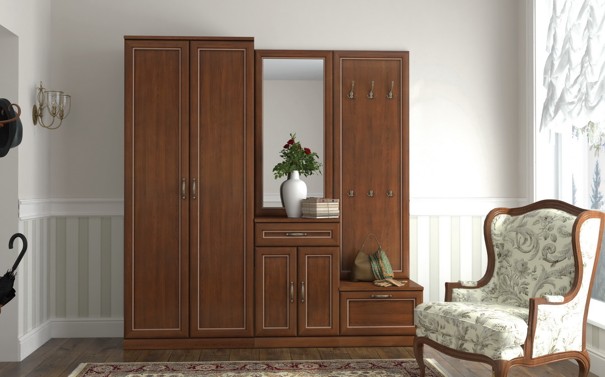 Модульная мебель для прихожих «Луара»