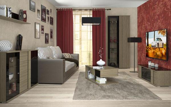 Мебель для гостиной Ален 4