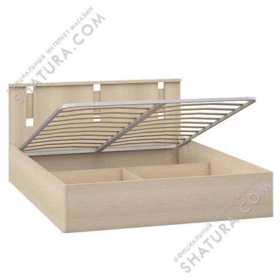 Кровать 1,5сп. с подъемным механизмом Британика ABE-01.F2L