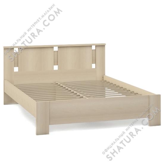 Кровать 1,5-спальная Британика AL6-01.F2L