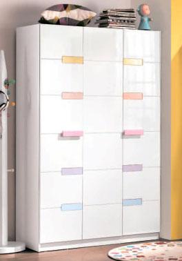 Шкаф 2-дверный Elsie White
