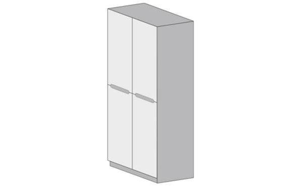 Шкаф 2-дверный Виго