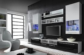 гостиная черная мебель