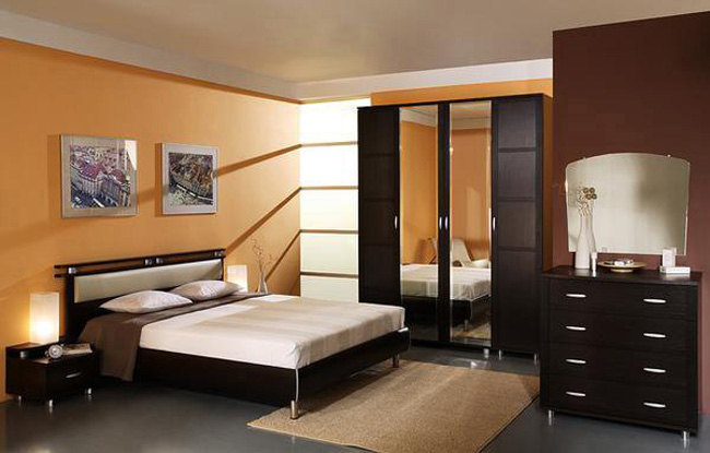 Модульная мебель для спальни Фристайл 2