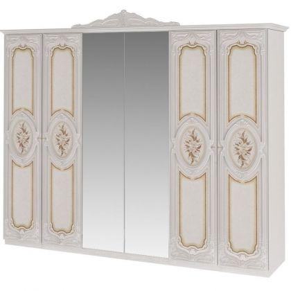 Шкаф 6-дверный РОЗА