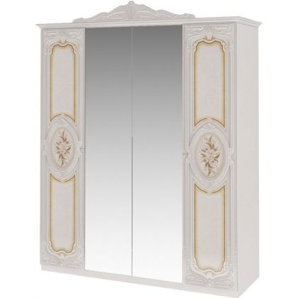 Шкаф 4-дверный РОЗА